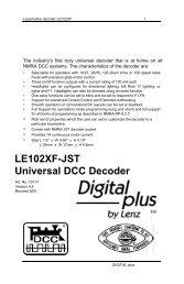 LE102XF-JST Booklet - Lenz USA