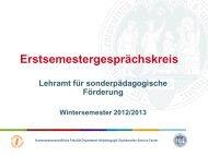 Lehramt für Sonderpädagogik - Universität zu Köln