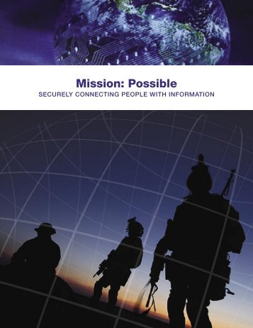 Mission: Possible - Chief Information Officer