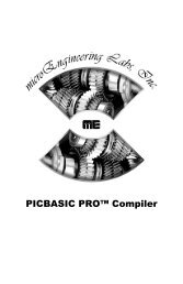 PICBASIC PRO™ Compiler