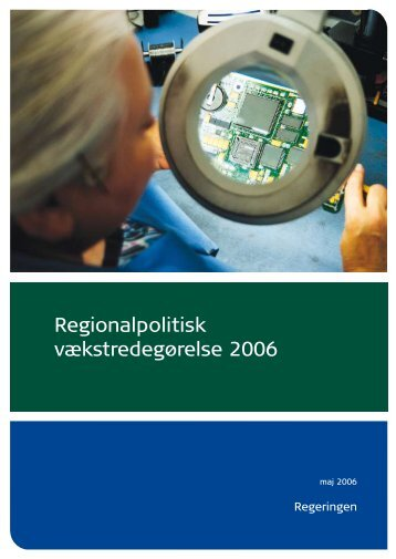 Regionalpolitisk vækstredegørelse 2006 - Region Midtjylland