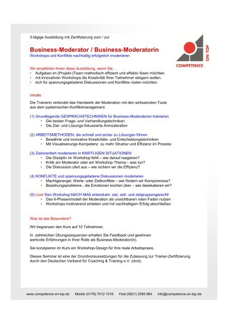 Drucken - Competence on Top