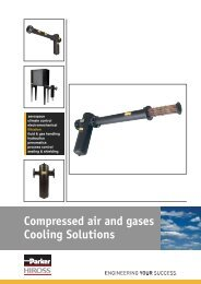 Compressed air and gases Cooling Solutions - regula servis