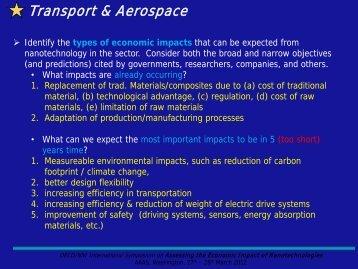 Transport & Aerospace