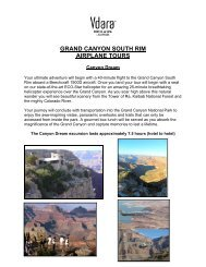 Grand canyon south rim airplane tours - Vdara