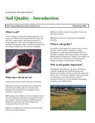 Soil Quality Introduction