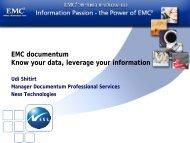 EMC documentum - Ortra