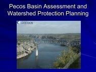 Pecos River Basin Assessment Program - Pecos River WPP ...