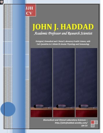 Download File - JOHN J. HADDAD, Ph.D. - Weebly