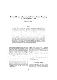 Research Issues in Sustainable Coastal Shrimp Farming: a ... - ACIAR