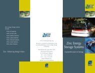 Zinc Energy Storage Systems: A Powerful Source of - International ...