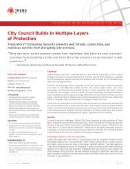 Salford City Council - Trend Micro