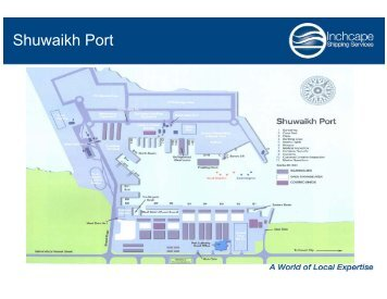Shuwaikh Port Information.pdf - Inchcape Shipping Services