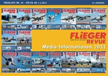 Media-informa tionen 2011 - Fliegerrevue