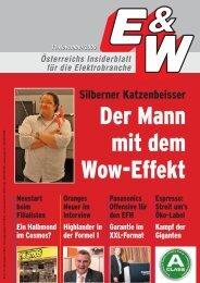Silberner Katzenbeisser Der Mann mit dem Wow-Effekt ... - E&W