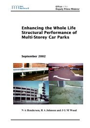 Department for Transport, Local Government and ... - Planning Portal