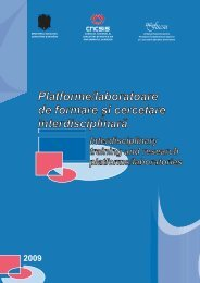 Platforme/Laboratoare de formare si cercetare ... - uefiscdi