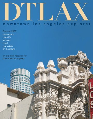 downtown los angeles explorer - Dtlax