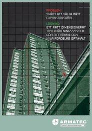 Armatec folder tryckhållning 2012