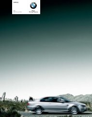 Current product catalogue - BMW Egypt