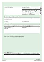 IN 625 - Anmodning om udbetaling af tilskud til ... - klxml