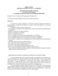Regione Toscana AZIENDA SANITARIA LOCALE. N. 12 VERSILIA ...