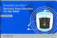 Electronic Knee Stimulator For Pain Relief