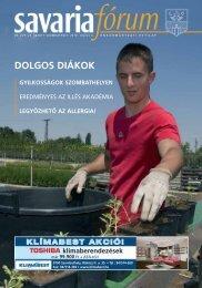 DOLGOS DIÁKOK - Savaria Fórum