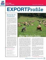 November - US Dairy Export Council