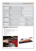 Tensioning hydraulics - Eiva-Safex - Page 7