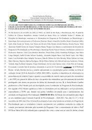 CEPG - 19/11/10 - Escola Paulista de Medicina