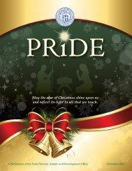 Pride Christmas 2012 - St. Dominic High School