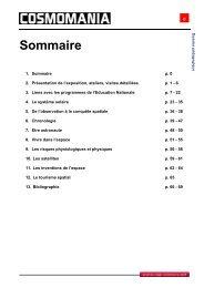 Dossier pédagogique complet - Cap Sciences