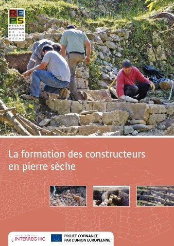 La formation des constructeurs en pierre sèche