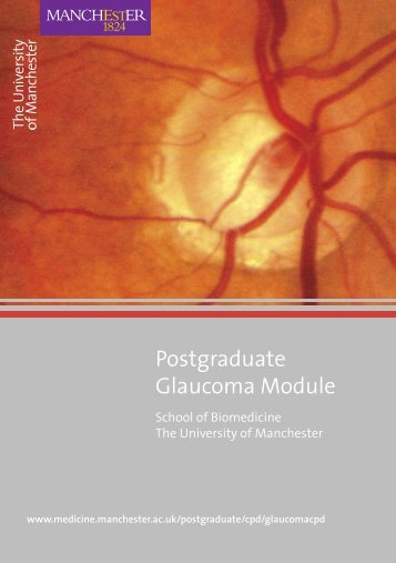 Postgraduate Glaucoma Module - contentlibrary - The University of ...