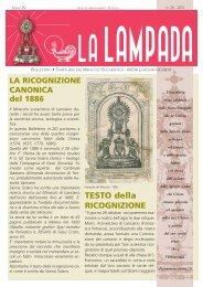 Anno 4 - n° 26 - Il Santuario del Miracolo Eucaristico