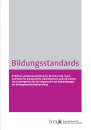 Bildungsstandards: Richtlinien des Bundesministeriums ... - Lev-tirol.at