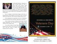 2010 Veterans Day Program.pdf - Lake Local Schools