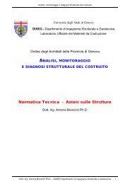 Normativa Tecnica - Azioni sulle Strutture - Ingegneria strutturale e ...