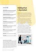 HÃ¥llbarhetsredovisning 2008 - Apoteket - Page 2