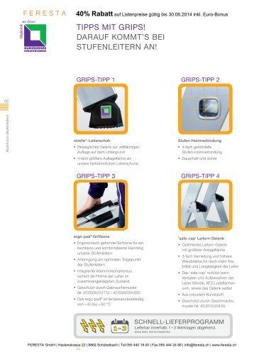 Anlegeleitern mit Stufen - FERESTA GmbH