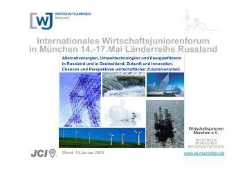 Internationales Wirtschaftsjuniorenforum in München 14.-17.Mai ...