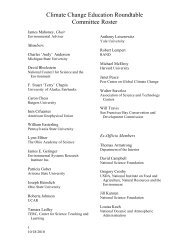 Committee Roster - The National Academies