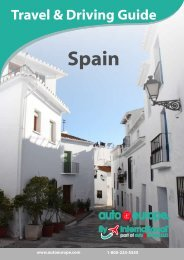 Travel & Driving Guide: Spain - Auto Europe