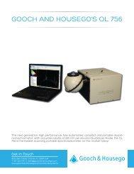 OL 756 Portable UV-VIS Spectroradiometer - Gooch and Housego