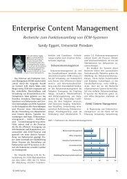 Enterprise Content Management - Industrie Management