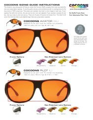 CoCoons AviAtOr (XL) CoCoons PiLOt (L) - Cocoons Eyewear
