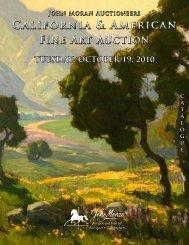 California & American Fine Art Auction California & American Fine ...
