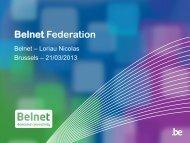 Belnet Federation - Belnet - Events
