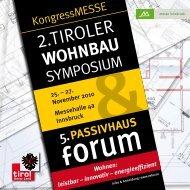 Programm - IG Passivhaus Tirol